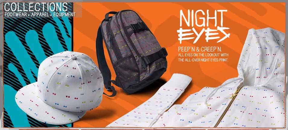 online store 0fc9c eed05 Nike 6.0 April Drop – Night Eyes   Oncore Ricochet. Night Eyes Series