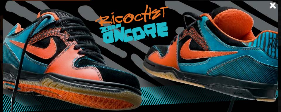 size 40 7f725 0cd60 Nike 6.0 Night Eyes Series. Oncore Ricochet. Nike Zoom Oncore Ricochet