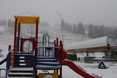 Copper Mountain First Snow 9-21-09